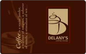 Delany's Coffee House Gift Cards