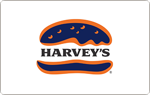 Harvey's Gift Cards
