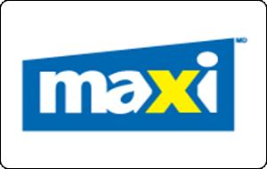 Maxi Gift Card