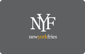 New York Fries Gift Cards