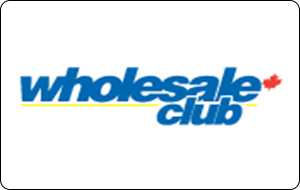 Wholesale Club Gift Cards