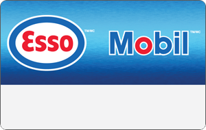 Esso™ and Mobil™ Reloadable Gift Cards