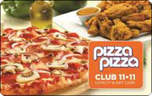 Pizza Pizza Gift Cards